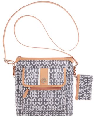Image of Giani Bernini Annabelle Signature Crossbody Bag, Only at Macy's