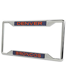 Stockdale Denver Broncos Glitter License Plate Frame