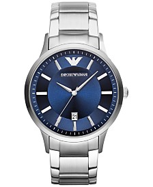 Emporio Armani Unisex Stainless Steel Bracelet Watch 43mm AR2477