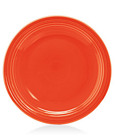 "Fiesta Poppy 9"" Luncheon Plate"