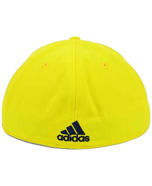 87f99602ed4 adidas. Michigan Wolverines NCAA On-Field Baseball Cap. Be the first to  Write a Review. main image ...