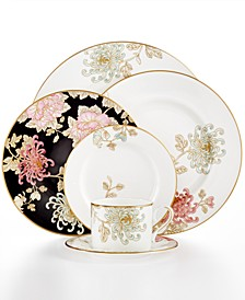 Dinnerware, Painted Camellia Collection