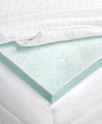 CLOSEOUT! 3'' Dual Layer Thermaphase Gel™ &  Energex Support Foam King Mattress Topper