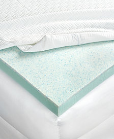 CLOSEOUT! Lauren Ralph Lauren 3'' Dual Layer Thermaphase Gel™ & Energex Support Foam California King Mattress Topper
