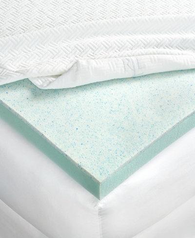 CLOSEOUT! Lauren Ralph Lauren 3'' Dual Layer Thermaphase Gel™ & Energex Support Foam King Mattress Topper