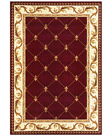 CLOSEOUT! Kas Corinthian Fleur-de-Lis Area Rug Collection