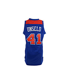 adidas Men's Wes Unseld Washington Bullets NBA Retired Player Jersey