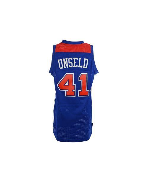 bffe51b1316f ... adidas Men s Wes Unseld Washington Bullets NBA Retired Player Jersey ...