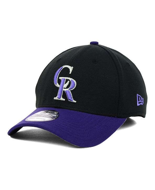 New Era Colorado Rockies MLB Team Classic 39THIRTY Stretch-Fitted Cap
