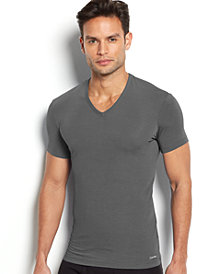 Calvin Klein Men's Underwear Body Modal V-Neck Undershirt U5563