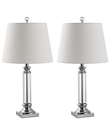 Set of 2 Zara Crystal Table Lamps