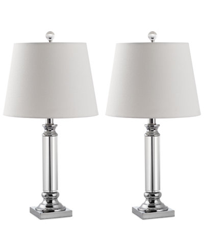 Safavieh Set of 2 Zara Crystal Table Lamps