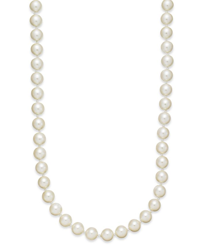 Charter Club - Imitation Pearl Strand Necklace (8mm)