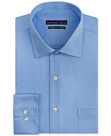 Geoffrey Beene Men's Classic-Fit Wrinkle Free Sateen Dress Shirt