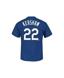 MajesticShort-Sleeve Clayton Kershaw Los Angeles Dodgers T-Shirt