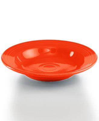 Poppy Rim Soup Bowl