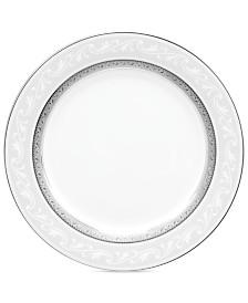 Noritake Dinnerware, Crestwood Platinum Accent Plate