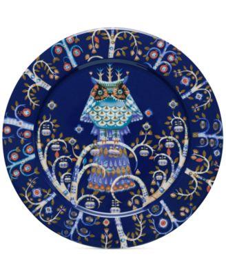 """Blue Taika  Dinner 10.6"""" Plate"""