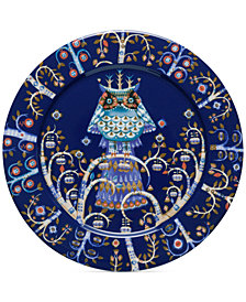 """Iittala Taika Blue Dinner 10.6"""" Plate"""