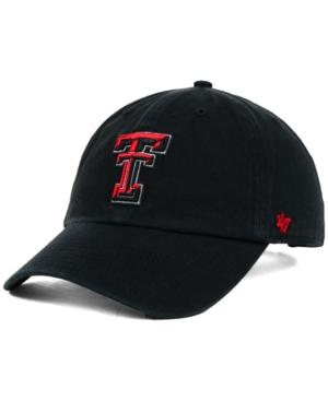'47 Brand Texas Tech Red Raiders Ncaa Clean-Up Cap