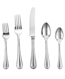 Lenox 20-Pc. Vintage Jewel Frosted Flatware Set