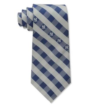 New York Yankees Checked Tie