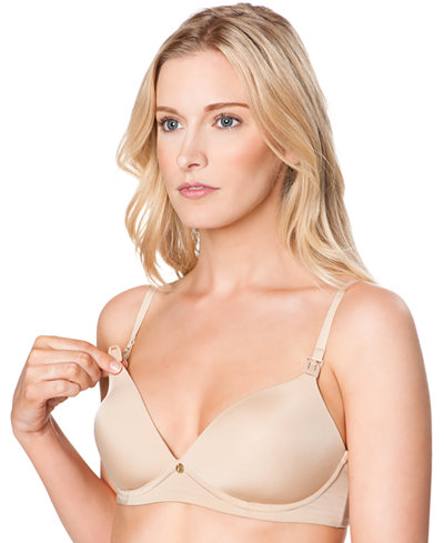A Pea In The Pod Wireless Nursing Demi Bra