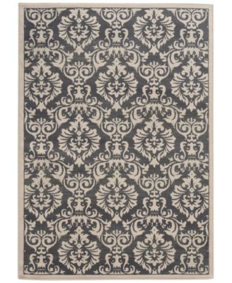 "CLOSEOUT! Warren Cove WC530K Damask 1'10"" x 2'10"" Area Rug"