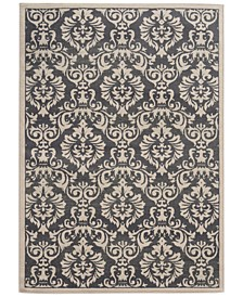 "CLOSEOUT! Warren Cove WC530K Damask 7'10"" x 10' Area Rug"