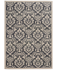 "CLOSEOUT! Oriental Weavers Warren Cove WC530K Damask 1'10"" x 7'3"" Runner Rug"