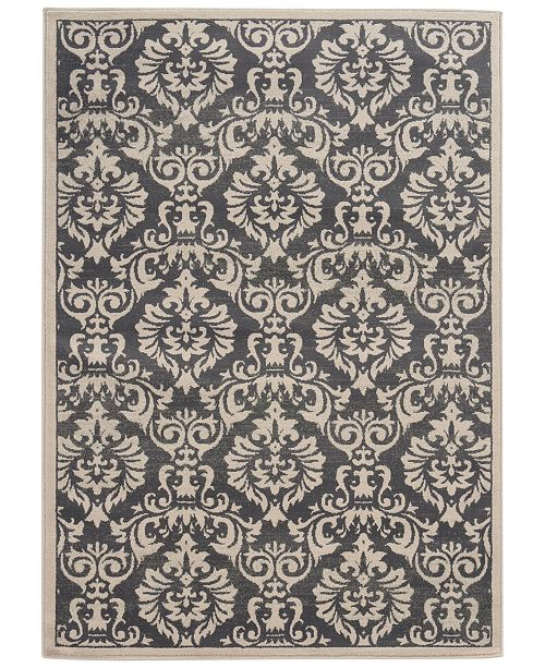 "Oriental Weavers CLOSEOUT! Warren Cove WC530K Damask 1'10"" x 7'3"" Runner Rug"
