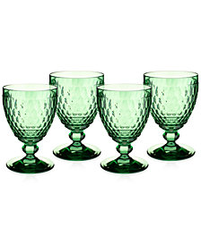 Villeroy & Boch Boston Goblet, Set of 4