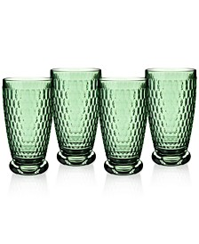 Boston Highball Glasses, Set of 4