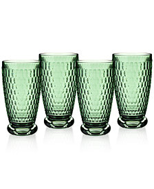 Villeroy & Boch Boston Highball Glasses, Set of 4
