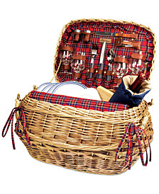 Picnic Time Red Highlander Picnic Basket