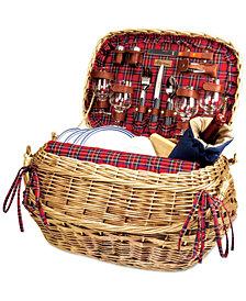 Picnic Time Red Highlander Picnic Basket