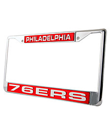 Rico Industries Philadelphia 76ers License Plate Frame