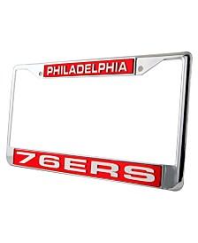 Rico Industries Philadelphia 76ers License Plate Frame