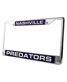 Rico Industries Nashville Predators License Plate Frame
