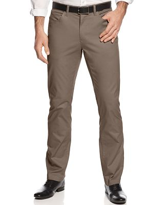 Alfani Slim-fit Cotton Stretch Pants, Created for Macy's - Pants ...