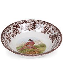 Spode Woodland Pheasant Ascot Cereal Bowl