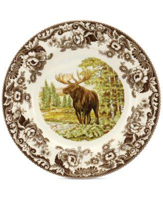 Woodland Majestic Moose Dinner Plate
