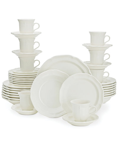 Mikasa French Countryside 40-Pc. Dinnerware Set, Service for 8 ...