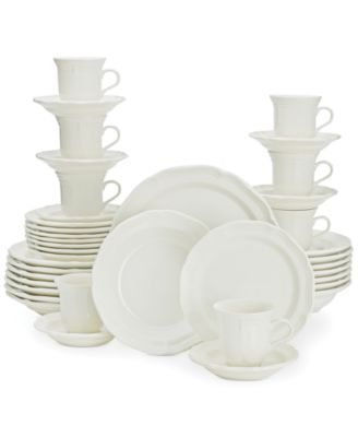 main image  sc 1 st  Macyu0027s & Mikasa French Countryside 40-Pc. Dinnerware Set Service for 8 ...
