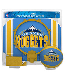 Jarden Sports Denver Nuggets Slam Dunk Basketball Hoop Set