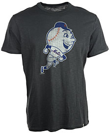 '47 Brand Men's Short-Sleeve New York Mets Scrum Coop Logo T-Shirt