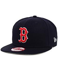 Boston Red Sox MLB 2 Tone Link 9FIFTY Snapback Cap