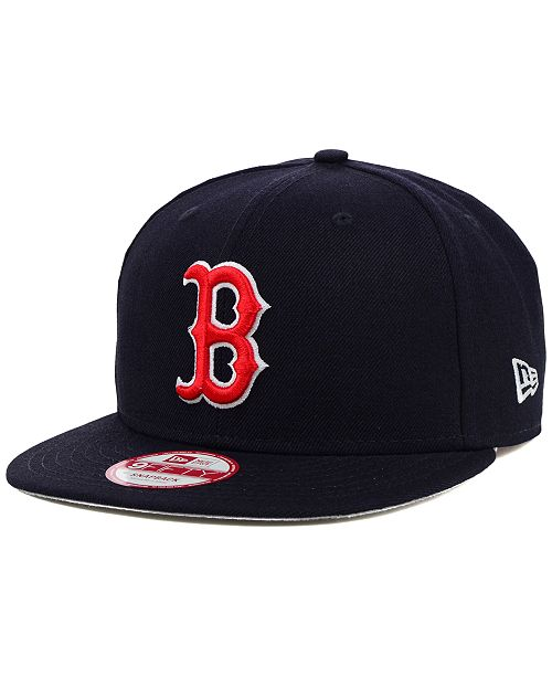 3aa328914be New Era Boston Red Sox MLB 2 Tone Link 9FIFTY Snapback Cap   Reviews ...