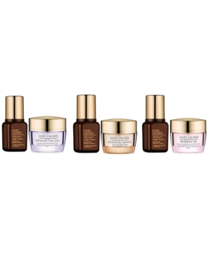 Choose a Free 8-Pc. Gift with any Estee Lauder skin care purchase + Get More with $70 Estee Lauder purchase