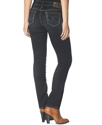 Silver Jeans Suki Slim Bootcut Jeans - Juniors Jeans - Macy's